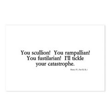 you scullion Postcards (Package of 8)