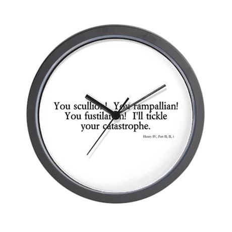 you scullion Wall Clock