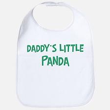 Daddys little Panda Bib