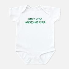 Daddys little Horseshoe Crab Infant Bodysuit
