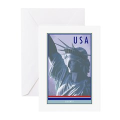 United States Greeting Cards (Pk of 20)