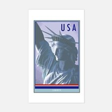 United States Rectangle Decal