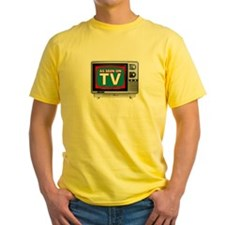 As seen on TV yellow tee
