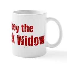 Obey the Black Widow Mug