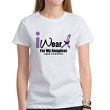 I wear purple for my daughter lupus awareness Clothing