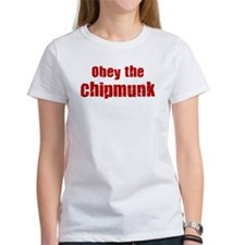 Obey the Chipmunk Tee