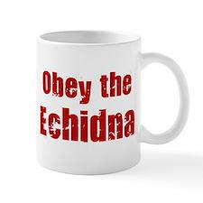 Obey the Echidna Mug