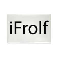 iFrolf Rectangle Magnet (100 pack)