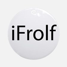 iFrolf Ornament (Round)