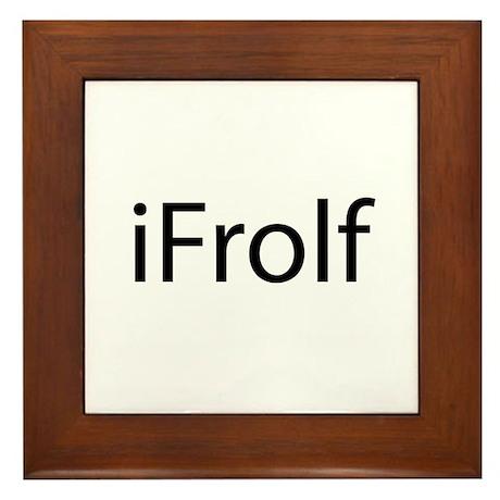 iFrolf Framed Tile