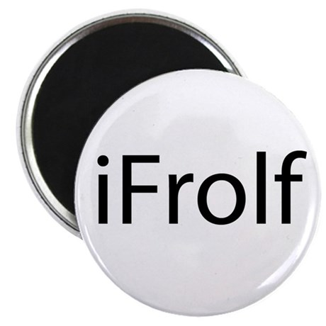 "iFrolf 2.25"" Magnet (10 pack)"
