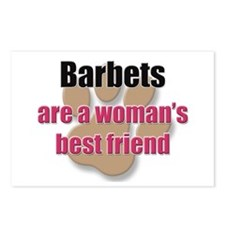 Barbets woman's best friend Postcards (Package of