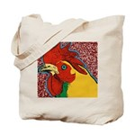 Bright Rooster Tote Bag