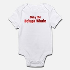 Obey the Beluga Whale Infant Bodysuit