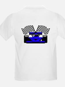 ROYAL BLUE RACE CAR T-Shirt