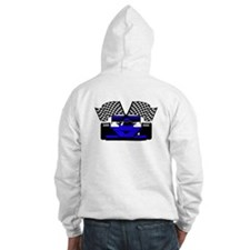 ROYAL BLUE RACE CAR Hoodie