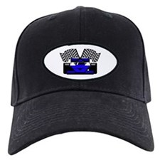 ROYAL BLUE RACE CAR Baseball Hat