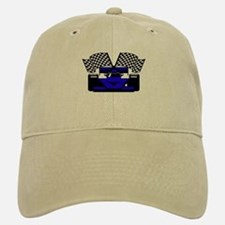 ROYAL BLUE RACE CAR Baseball Baseball Cap