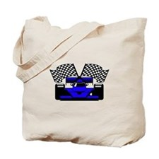 ROYAL BLUE RACE CAR Tote Bag