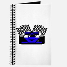 ROYAL BLUE RACE CAR Journal