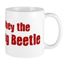 Obey the Dung Beetle Mug