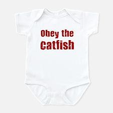 Obey the Catfish Infant Bodysuit