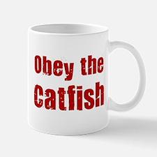 Obey the Catfish Mug