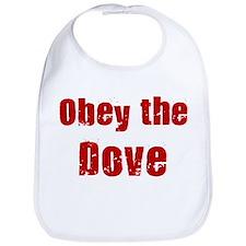 Obey the Dove Bib