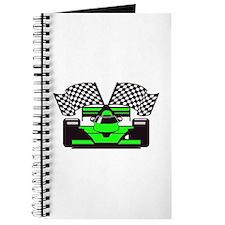 LIME GREEN RACE CAR Journal