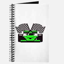 LIME GREEN RACE CAR Journal