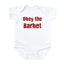 Obey the Barbet Infant Bodysuit