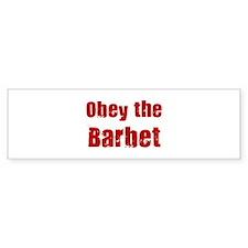 Obey the Barbet Bumper Sticker (10 pk)