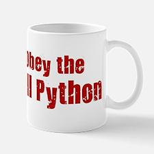 Obey the Ball Python Mug