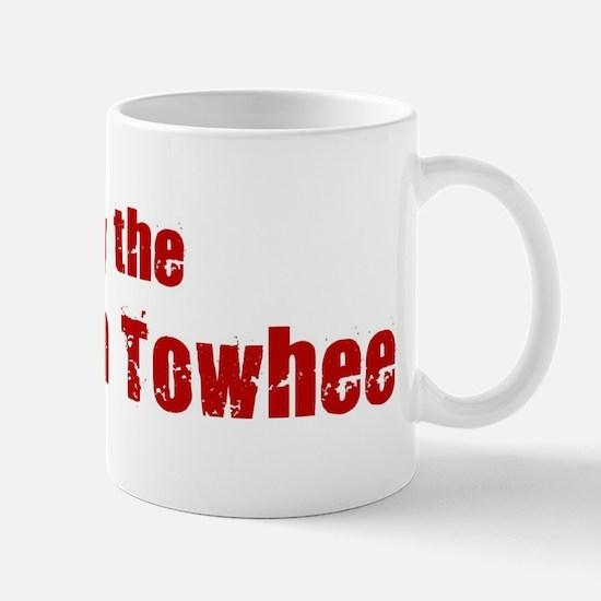 Obey the California Towhee Mug