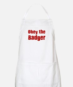 Obey the Badger BBQ Apron