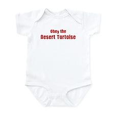 Obey the Desert Tortoise Infant Bodysuit