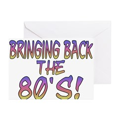 Return Of The 80's Greeting Cards (Pk of 20)