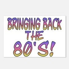 Return Of The 80's Postcards (Package of 8)