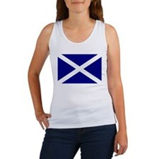 Scotland St. Andrew Flag 4 Women's Tank Top
