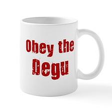 Obey the Degu Small Mug