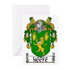 Keefe Coat of Arms Note Cards (Pk of 10)