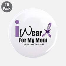 """Lupus Awareness 3.5"""" Button (10 pack)"""