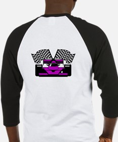 PURPLE RACE CAR Baseball Jersey