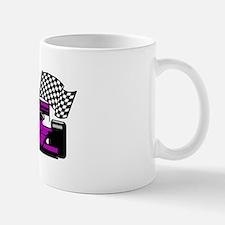 PURPLE RACE CAR Mug