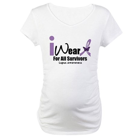 Lupus Awareness Maternity T-Shirt