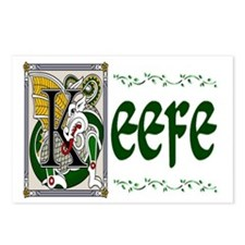 Keefe Celtic Dragon Postcards (Package of 8)