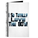Love The 80's Journal