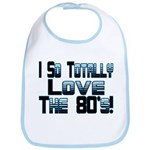 Love The 80's Bib