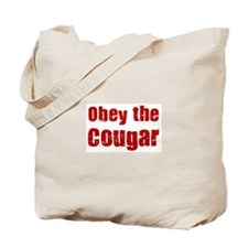 Obey the Cougar Tote Bag