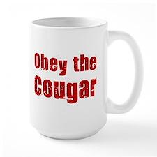 Obey the Cougar Mug